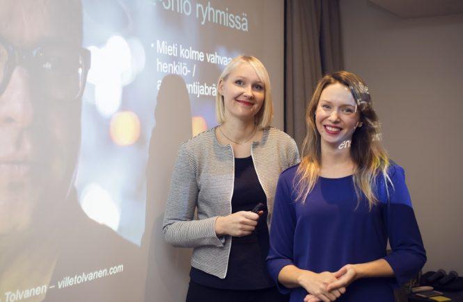 Maria Sillanpää ja Laura Pääkkönen