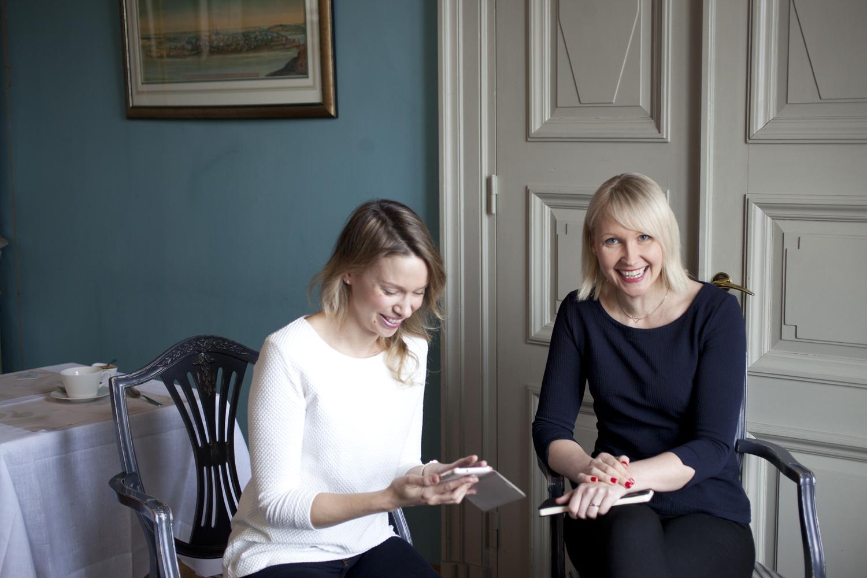 Laura Pääkkönen ja Maria Sillanpää, Restaurant Haven. Kuva: Johanna Kinnari